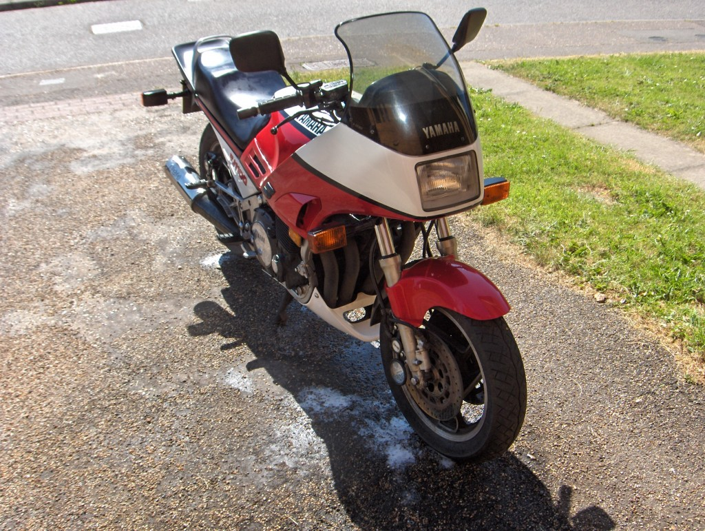 Awesome 1986 GSXR750 Rebuild Project 1
