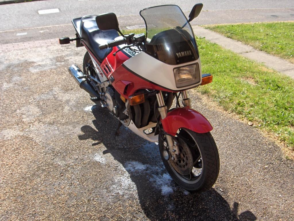 1986 GSXR750 Rebuild Project 1
