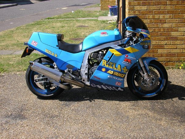 Awesome 1986 GSXR750 Rebuild Project 2