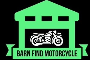 Barn find motorcycle