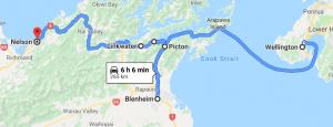 Wellington to Nelson 1