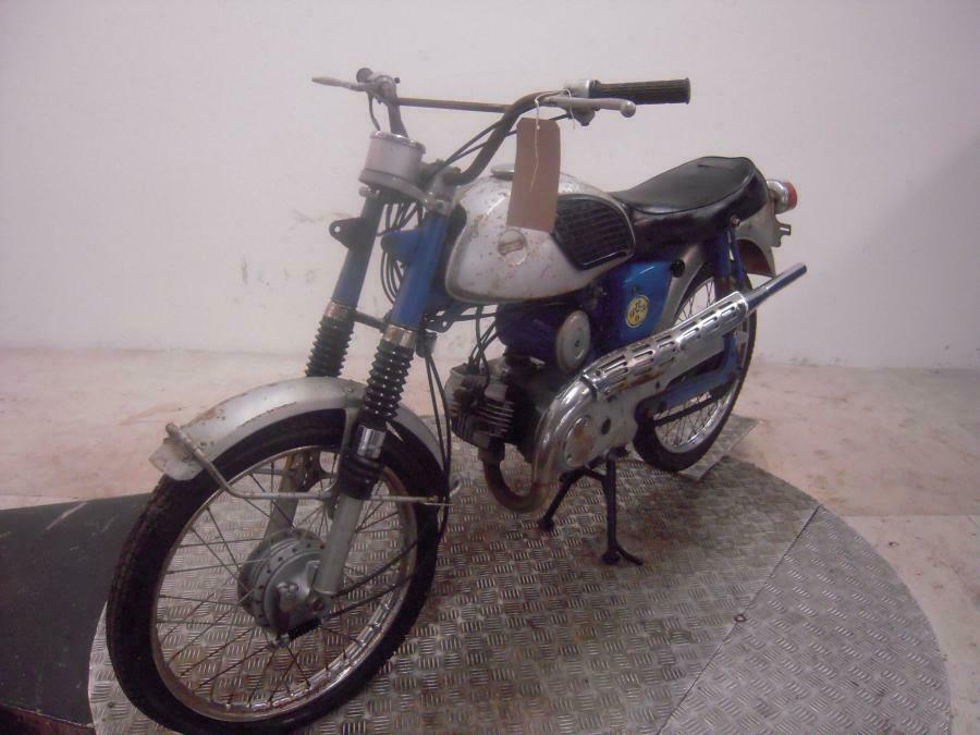 Suzuki AC50 Barn Find