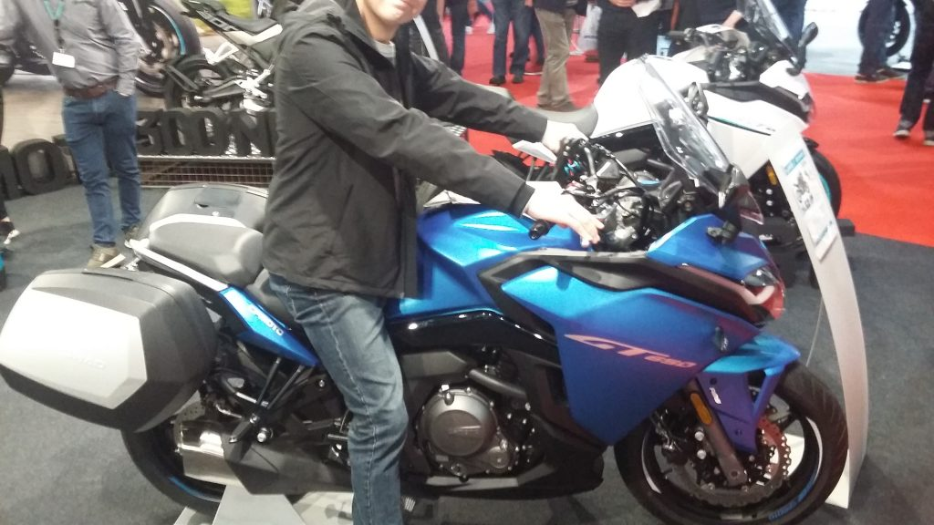 London Motorcycle Show 2020 CF Motorcycles