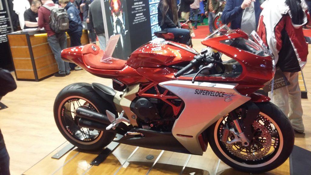 London Motorcycle Show 2020 MV Augusta