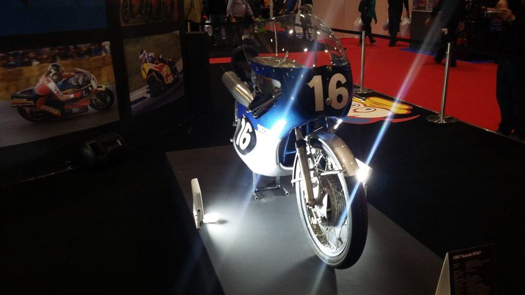 London Motorcycle Show 2020 Barry Sheene