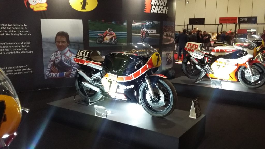 London Motorcycle Show 2020 Barry Sheene