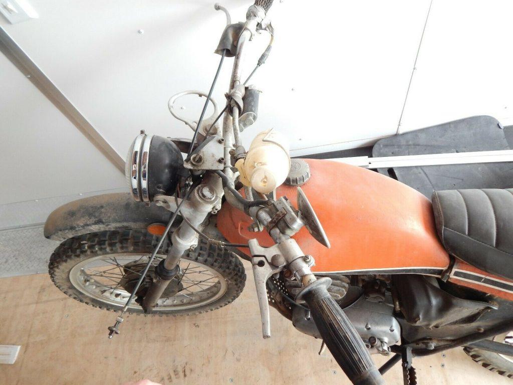 OSSA 250 Pioneer barn find