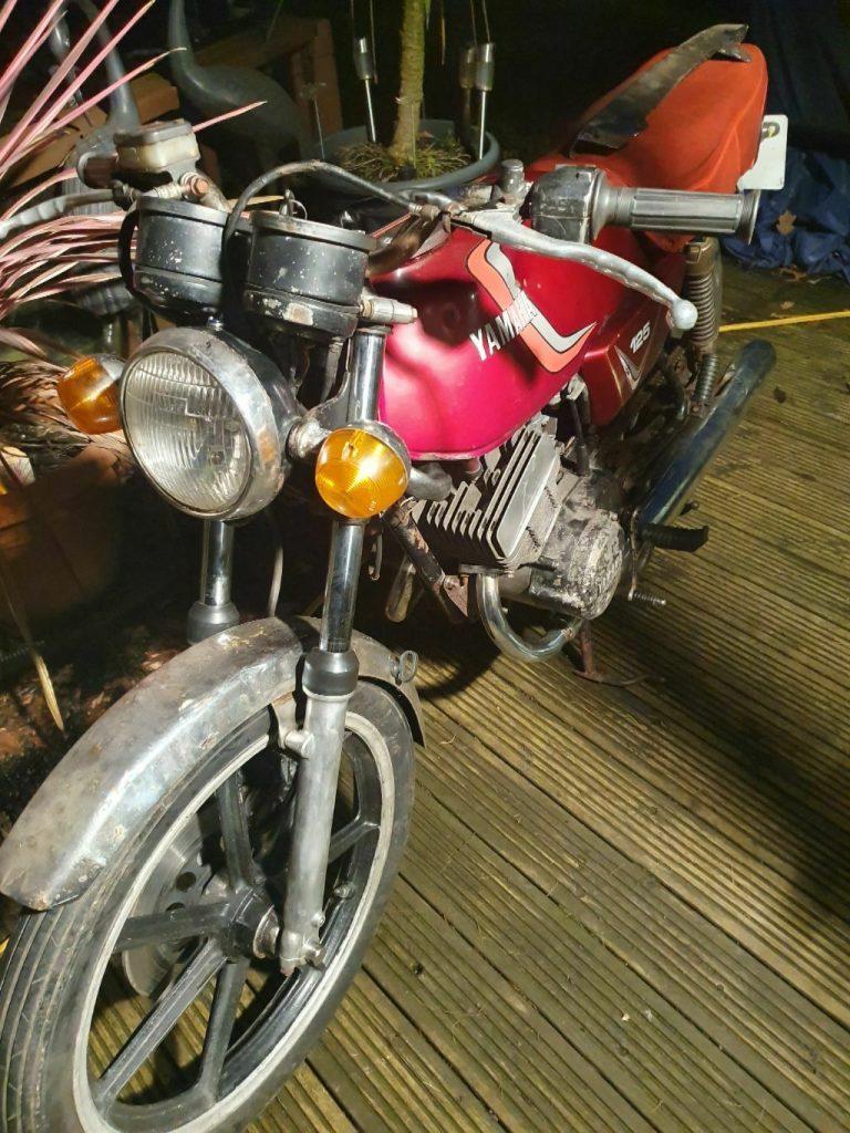 Yamaha RD125 barn find RD 125