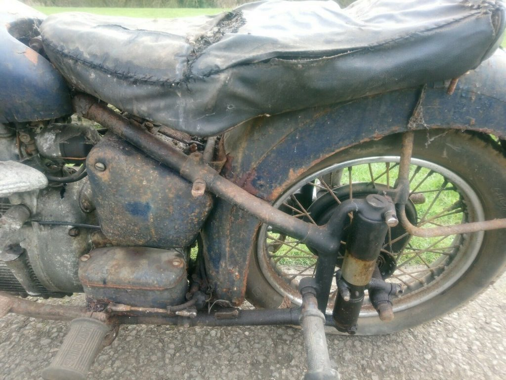 Sunbeam S8 barn find