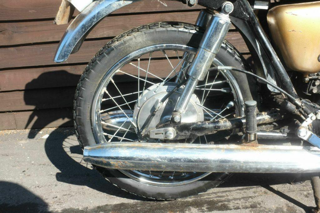 Awesome 1969 Bridgestone 350 GTR Barn Find 6