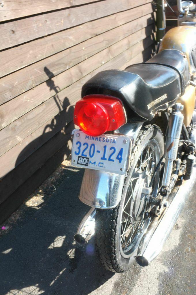 Awesome 1969 Bridgestone 350 GTR Barn Find 4