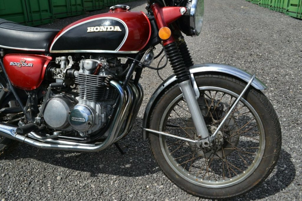 Honda CB500 Four classic motorcycle