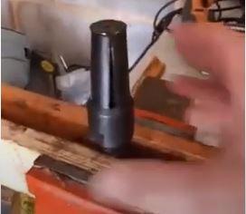 bearing puller clasp