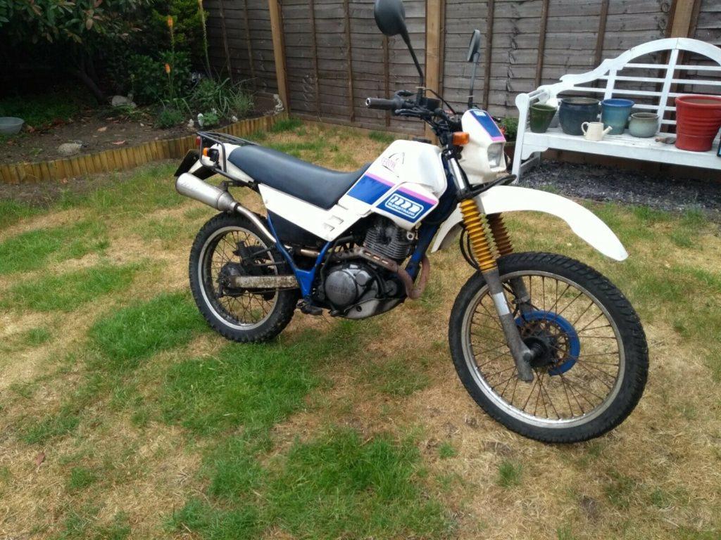 Yamaha Serow barn find