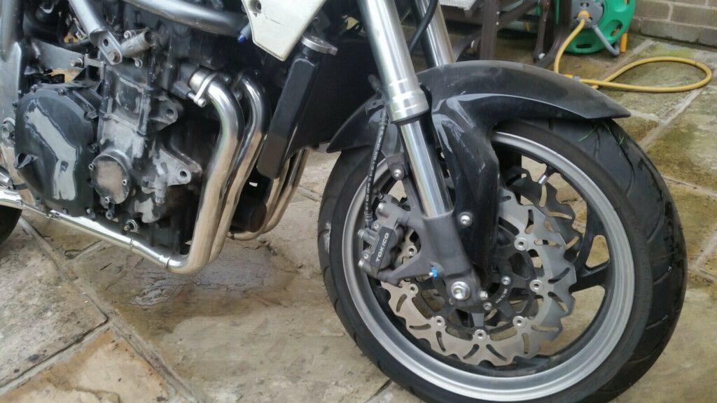 Awesome Honda CBR1000 / CB1000 barn find project 1