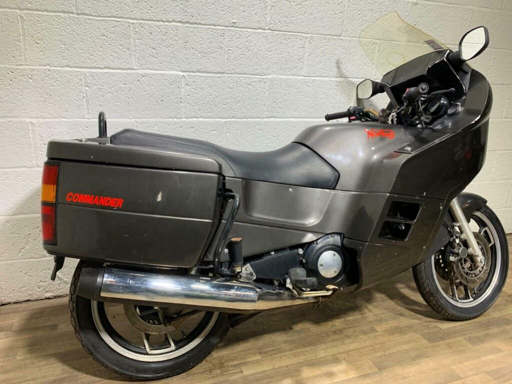 Awesome barn find Norton Commander 2