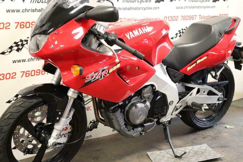 Awesome Yamaha SZR660 Super Single 1